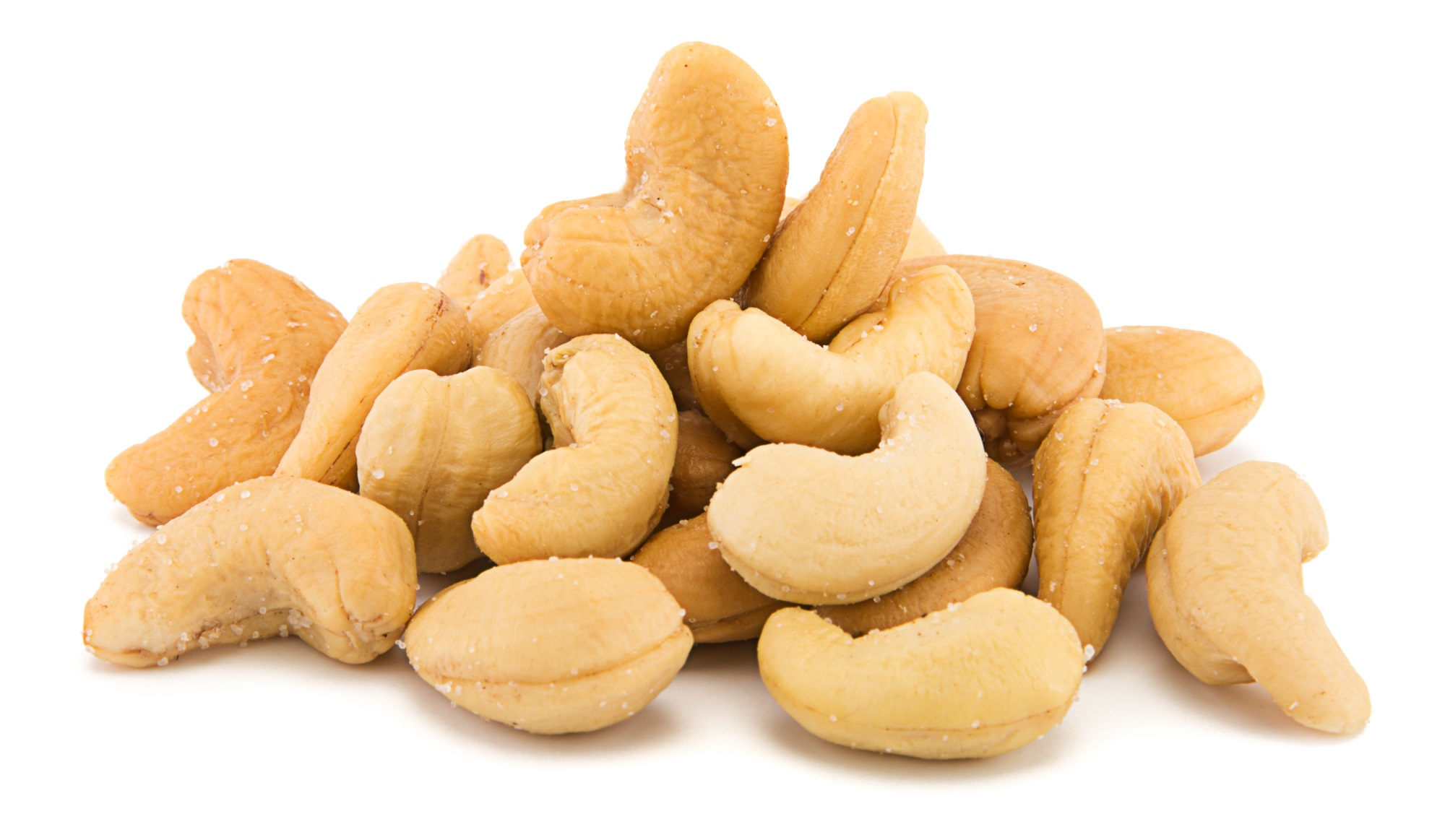 eating cashews